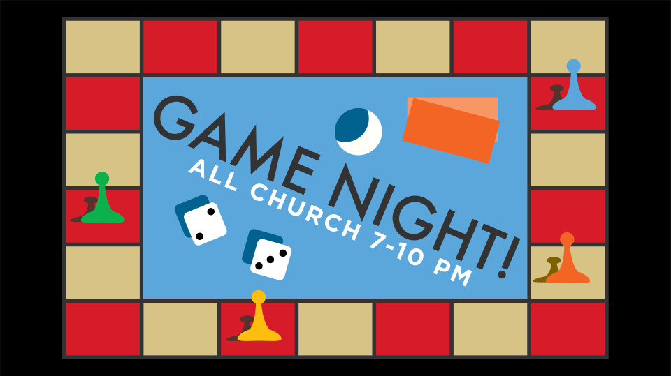 All Church Table Game Night